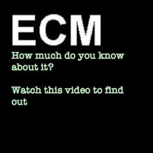 How much do you know about ECM?