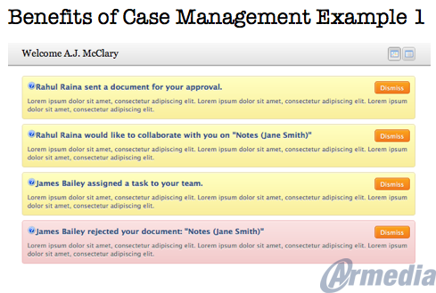 Benefits of Case Management Example 1