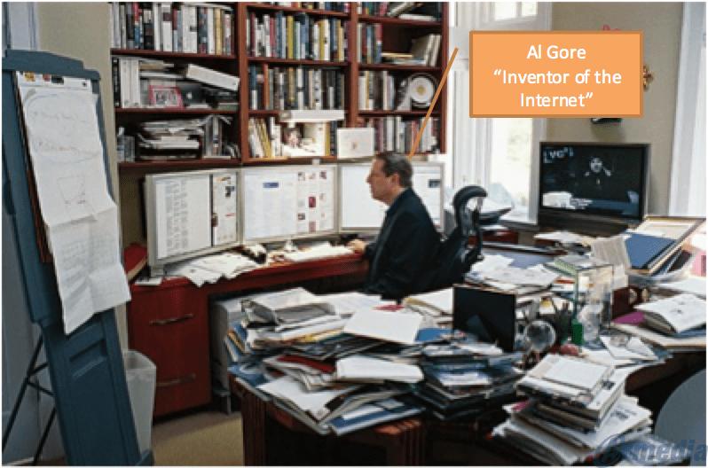 Al Gore - Inventor of the Internet