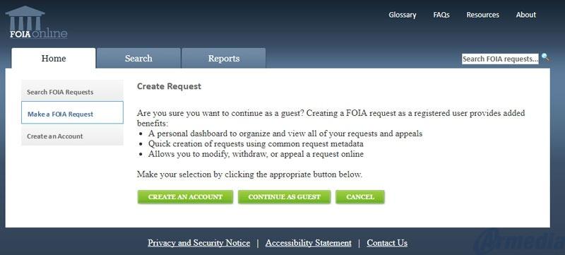 FOIA Online - Make the FOIA process more efficient