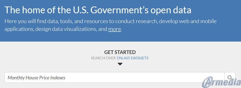 data.gov massive federal website