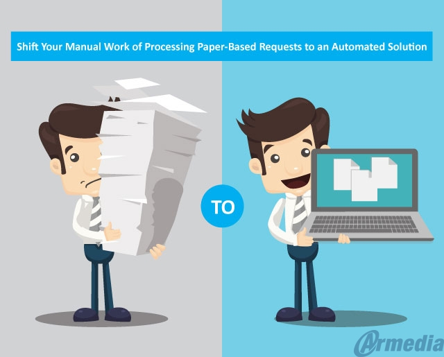 Shift from paper-based FOIA requests to an automated solution