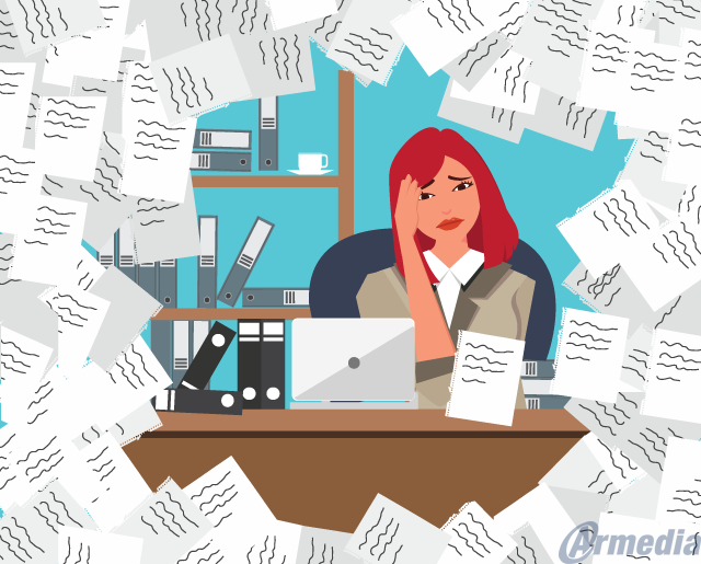 Disorganization can lead to misplaced paperwork