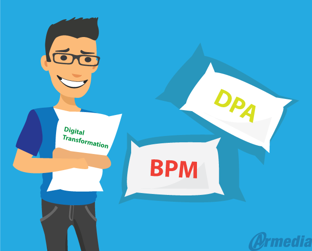 moving from BPM to Digital Process Automation