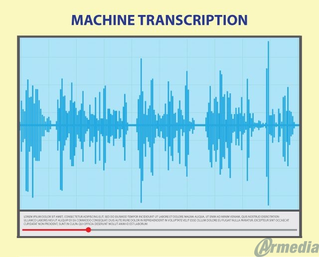 machine transcriptions