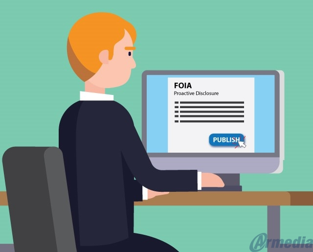 proactive disclosure FOIA Advisory Committee recommendations