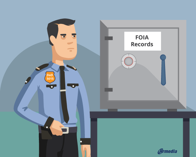 to protect their data, FOIA agencies should consider DoD 5015 compliant software