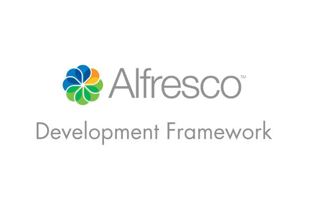 First Look At Alfresco Development Framework (ADF)