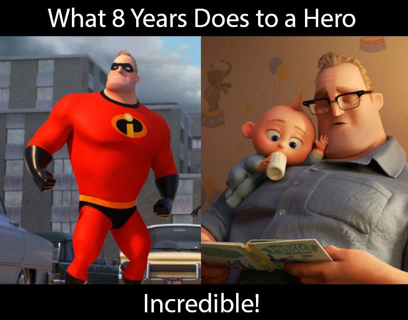 What 8 years does to a superhero like Metastorm