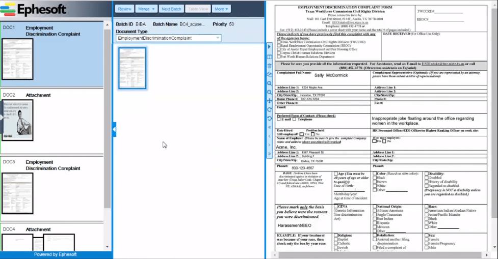 Ephesoft scanning software