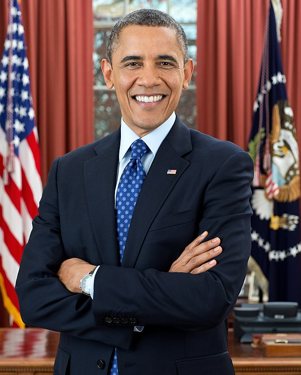 Official portrait of President Barack Obama