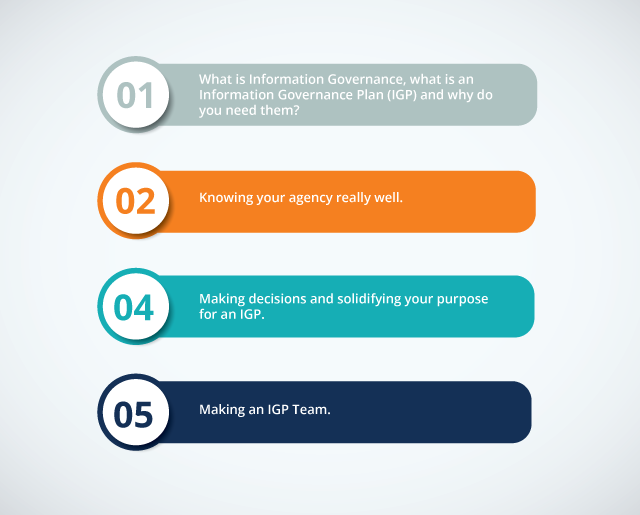 vital steps to develop IGP