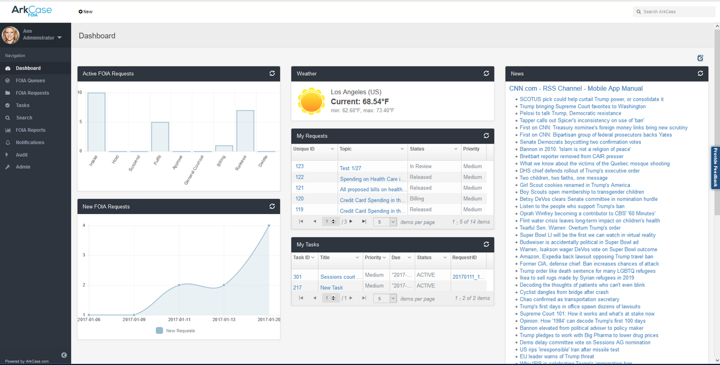 workflows customization with ArkCase ECM