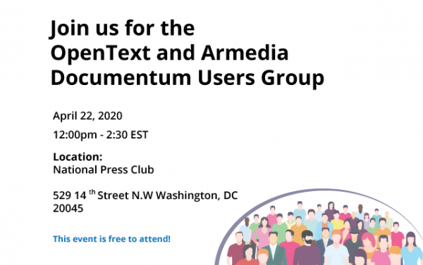 OpenText and Armedia Documentum Users Group