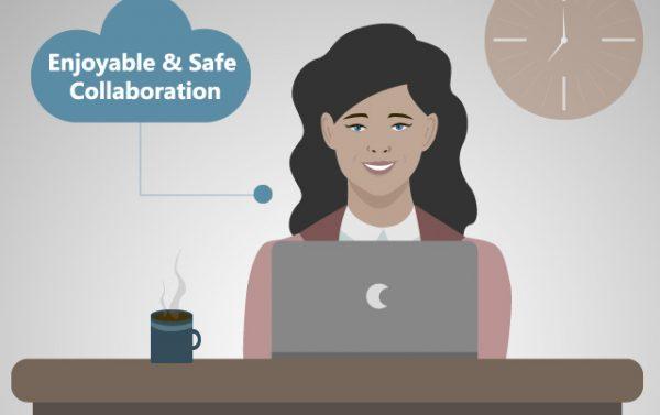 Enjoyable and safe collaboration